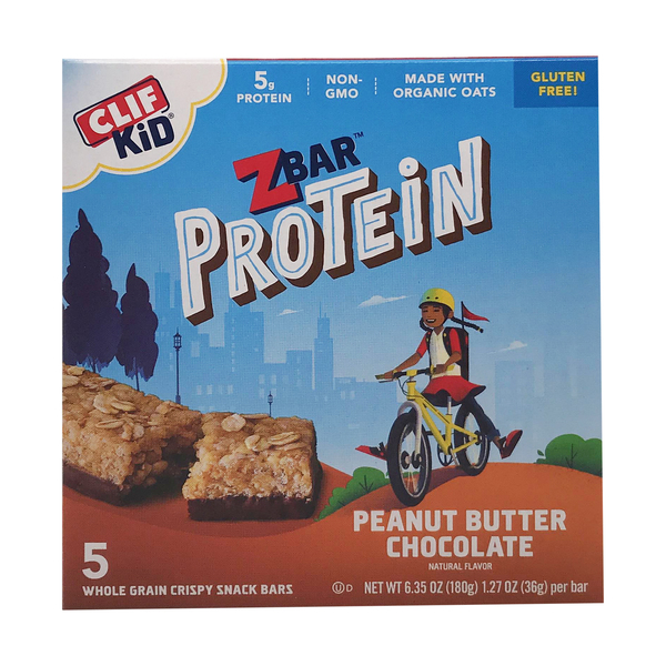 Clif Peanut Butter Chocolate Protein Z Bar, 6.35 oz
