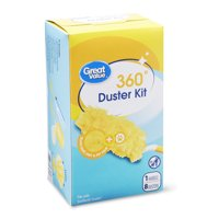 Great Value 360° Duster Kit (1 handle, 8 dusters)