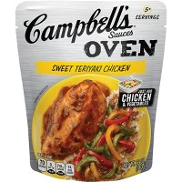 Campbell's Oven Sauces Sweet Teriyaki Chicken12oz