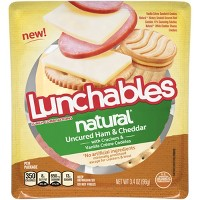 Lunchables Natural Ham And Cheddar - 3.44oz