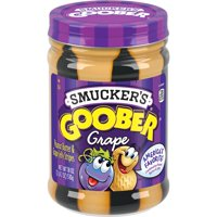 Smucker's Goober Peanut Butter and Grape Jelly Stripes, 18-Ounce