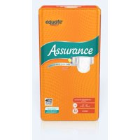 Assurance Incontinence Stretch Briefs With Tabs, Unisex, L/XL, 32 Ct