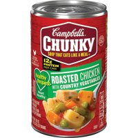 Campbell's Chunky Soup, Healthy Request Roasted Chicken with Country Vegetables Soup, 18.8 Ounce Can
