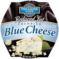 Treasure Cave® Blue Reduced Fat Crumbled Cheese
