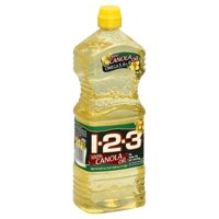1-2-3 100% Canola Oil, 33.8 fl oz