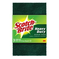 Scotch-Brite Heavy Duty Scour Pad, 3 Count