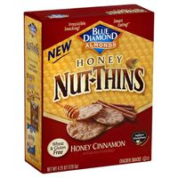 Blue Diamond Cracker Snacks, Honey Cinnamon