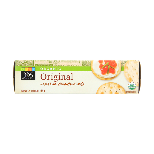 365 Everyday Value® Crackers, Original Water Crackers, 4.4 Oz.