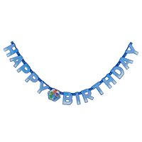 American Greetings PJ Masks Party Supplies Birthday Banner, 1-Count