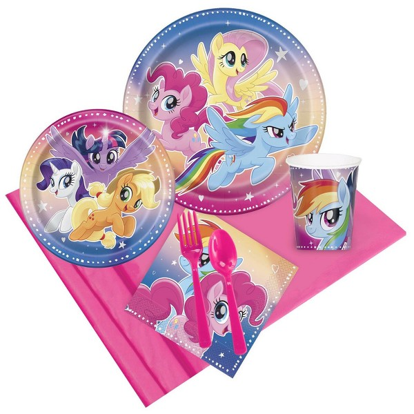 8ct My Little Pony Flying Ponies Party Pack