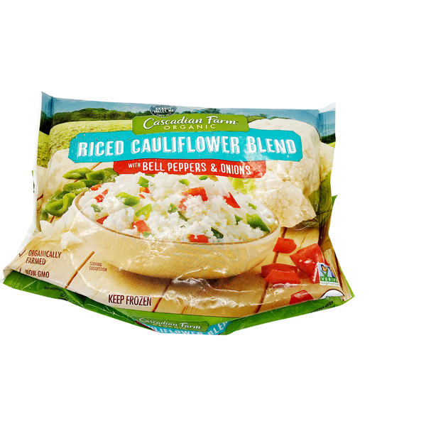 Cascadian farm Organic Riced Cauliflower Blend, 12 oz