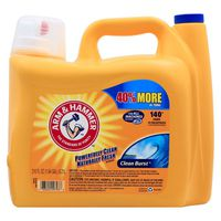 Arm & Hammer Clean Burst, 140 Loads Liquid Laundry Detergent,