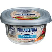 Philadelphia Garden Vegetable Reduced Fat Cream Cheese Spread
