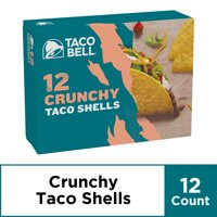 Taco Bell Crunchy Taco Shells, 12 ct - 4.5 oz Box