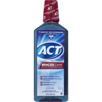ACT® Braces Care? Alcohol Free Mouthwash, 18oz