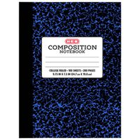 H-E-B Blue College Rule Composition Notebook