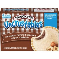 Smuckers Frozen Uncrustables Chocolate Flavored Hazelnut Spread - 7.2oz