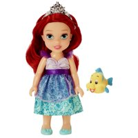 "Disney Princess 6"" Petite Ariel Doll with Glittered Hard Bodice and includes comb"