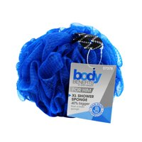 Body Benefits Mens XL Shower Body Pouf, Color May Vary