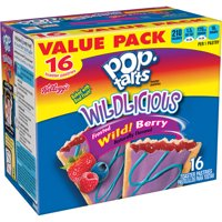 Kellogg's Pop-Tarts, Wildlicious Frosted Wild Berry Flavored, 30.4 oz, 16 Ct