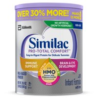 Similac Pro-Total Comfort Non-GMO with 2'-FL HMO Infant Formula with Iron, Easy-to-Digest, Gentle Formula, For Immune Support, Baby Formula 29.8 oz