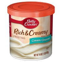 Betty Crocker Rich and Creamy Cream Cheese Frosting - 16oz