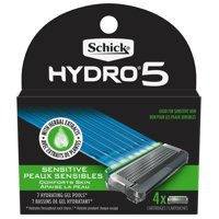 Schick Hydro 5 Sense Sensitive Men's Razor Blade Refills, 4 Ct