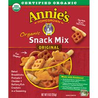 Annie's Homegrown Organic Assorted Crackers and Pretzels Snack Mix