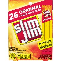 Slim Jim Original Smoked Snack Sticks - 26ct