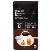 Organic Espresso Blend Dark Roast Whole Bean Coffee - 10oz - Archer Farms™