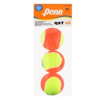 Penn QST 60 Felt Tennis Orange 3-ball in Polybag