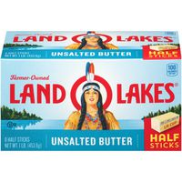 Land O' Lakes Land O Lakes Butter Half Sticks Unsalted