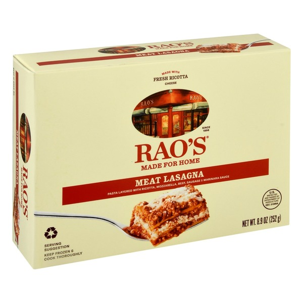 Rao's Homemade Made for Home Meat Lasagna