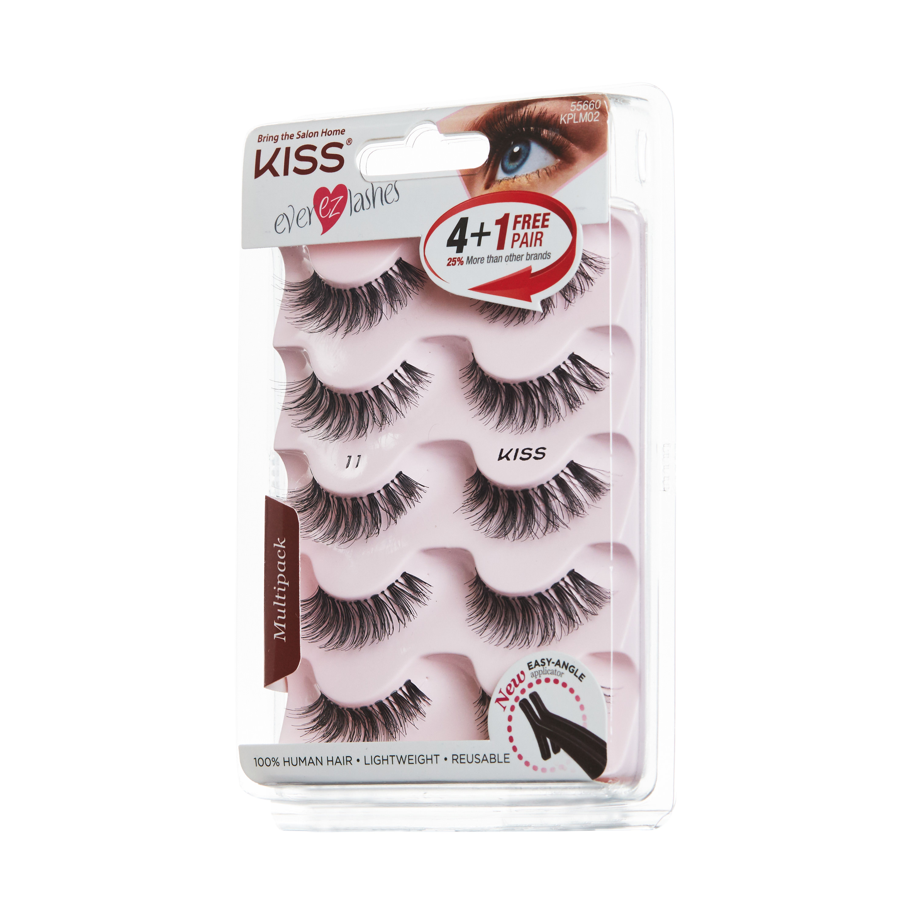 KISS Ever EZ™ Lashes - Multipack 01