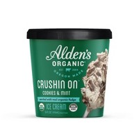 Alden's Organic Crushin' On Cookies & Mint Ice Cream - 14oz