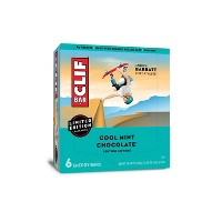 CLIF Bar Cool Mint Chocolate Energy Bars - 6ct