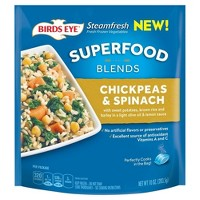 Birds Eye Super Food Blend Frozen Chickpeas & Spinach - 10oz