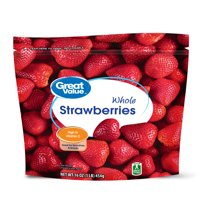 Great Value Frozen Whole Strawberries, 16 oz