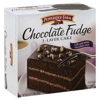 Pepperidge Farm Frozen Bakery Chocolate Fudge Layer Cake