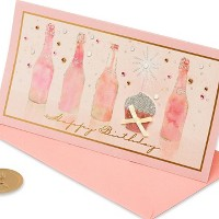 Cupcake and Champagne Birthday Card - PAPYRUS