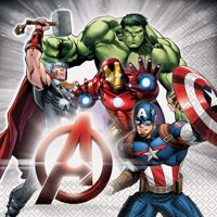 Avengers Luncheon Napkins, 6.5in, 16ct