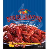 """Riceland Ready to Eat Whole Cooked """"Boiled"""" Crawfish, 3.0 lb"""