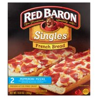 Red Baron® Singles French Bread Pepperoni Pizzas, 10.8 oz, 2 Count