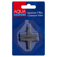 Aqua Culture Aquarium T-Way Connector Valve