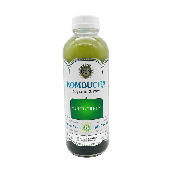 Multi-Green Kombucha, 16 fl. oz.
