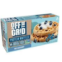 Off the Grid Frozen Waffles Wild Blueberry