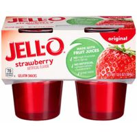 Jell-O Ready-to-Eat Strawberry Gelatin