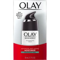 Olay Regenerist Regenerating Serum, Fragrance-Free Light Gel Face Moisturizer