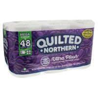 Quilted Northern Bathroom Tissue, Unscented, Ultra Plush