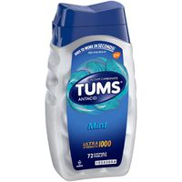 Tums Antacid, Ultra Strength 1000, Chewable Tablets, Mint